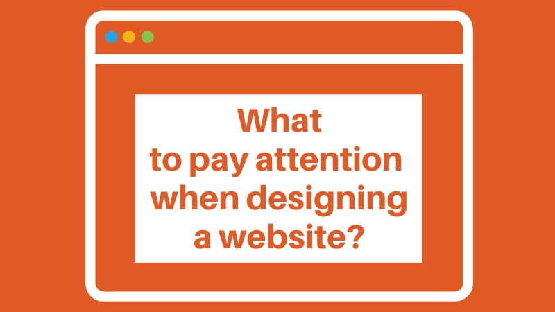 A clear website – what to pay attention when designing a website?