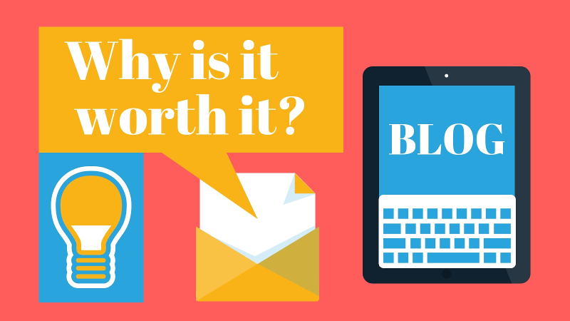 is it worth to have company blog