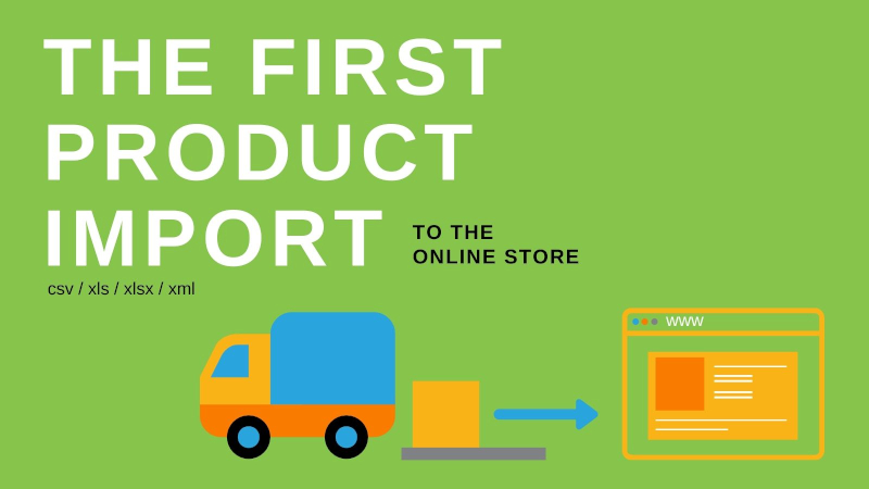 How to prepare for importing products to the online store?