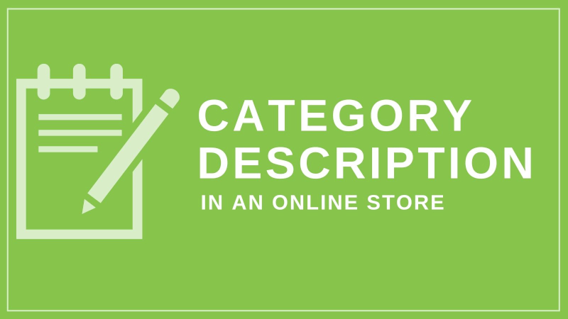 How to prepare category descriptions in an online store?