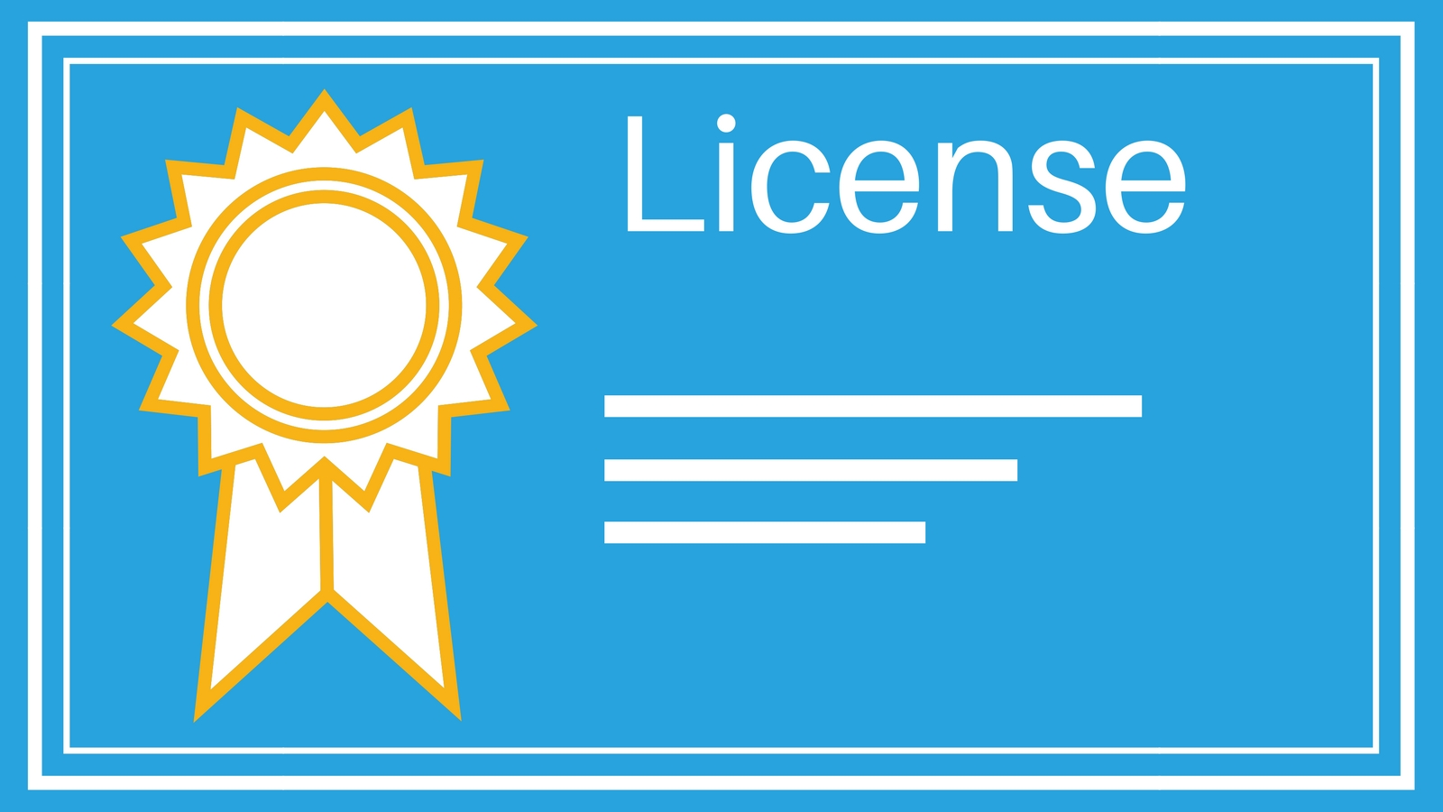 Extensions license types